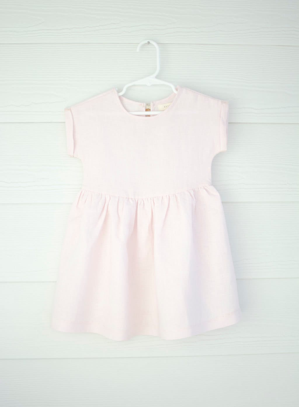 Baby Girls clothesgirls dress Simple and Classiclinen by