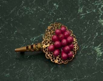 Antique Bouquet Brooch With Berries