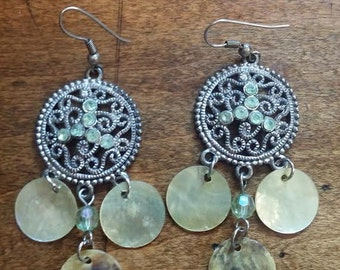 Ladies vistorian style earrings