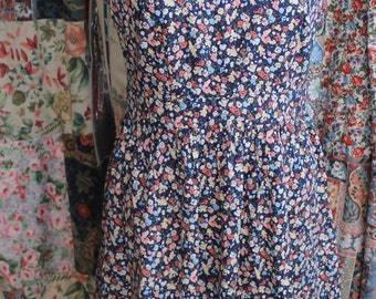Printed Cotton Floral Summer dress REF 273