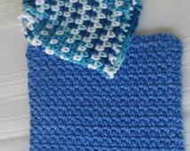 cotton crochet wash cloth, crochet soap saver,cotton crochet face scrubbies,make up remover,face exfoliator,soap holder,cotton facial rounds