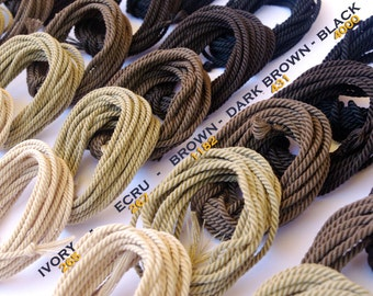 Miniature Rope for Ship Models / doll houses / miniatures / handmade color DARK BROWN