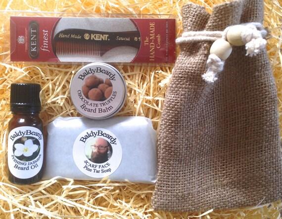 beard care kit for men gentlemen 39 s grooming gift set. Black Bedroom Furniture Sets. Home Design Ideas