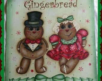 HOLLY JOLLY GINGERBREAD