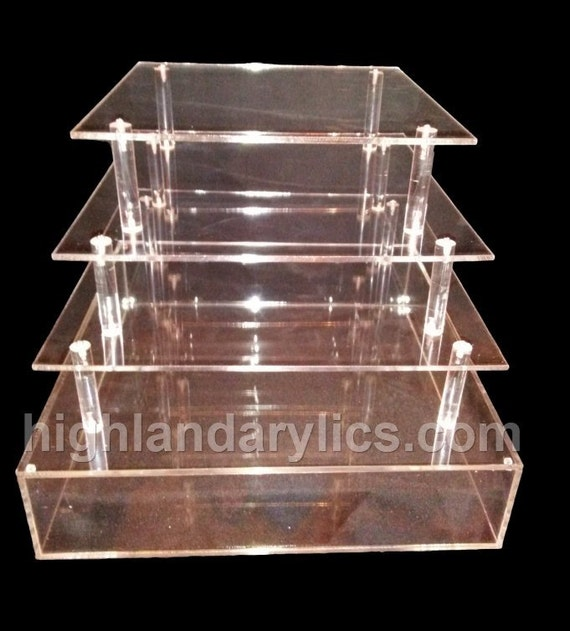box wedding cake stand acrylic cake stand box with cupcake stand in by 12115