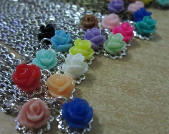 jewelry - little roses necklace for minifee/ MSD / small SD