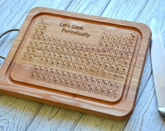 This item is unavailable - Periodic table chopping board ...