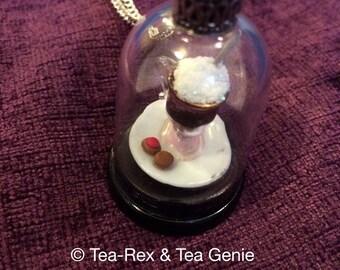 Frothy Tea Latte!