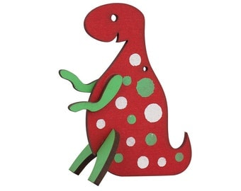 Tyrannosaurus rex (T rex) Christmas Ornament (Dinosaurnament®)