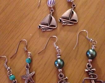 Nautical Charm Earrings