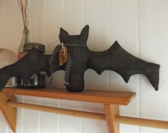 Primitive Fall/Halloween Bat/Large/made to order
