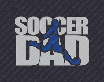 Soccer Dad Shirt - School Spirit Shirt - Custom - You Choose Your Team or School Colors