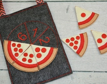 Pizza Counting Busy Bag