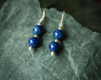 Jewelry for Bema Bright Lapis Stone Dangle Earrings