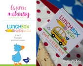 Tear Off Lunchbox Notes for Boys {70 pages} - Premium Paper