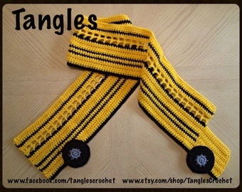 School Bus Scarf * Made To Order
