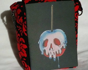 Poisoned candy apple purse, Inspired by Disney's Evil Queen, good for Disneybound