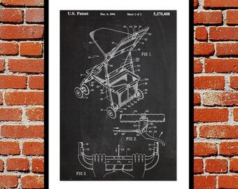 Infant Pram Print, Infant Pram Poster, Infant Pram Patent, Infant Pram Design, Infant Pram Wall Art, Infant Pram Art, Stroller Blueprint