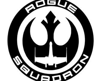 X Wing Sticker Vinyl Decals Star Wars Spaceship Car Window