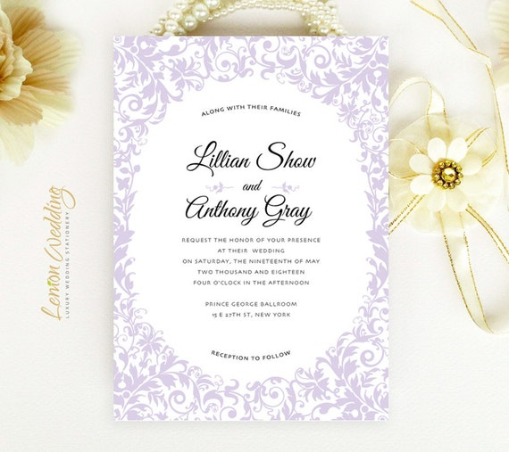 Cheap Cardstock For Wedding Invitations : ... cardstock Evening wedding invitation Elegant wedding invitation