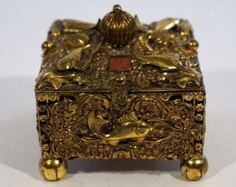 Vintage Austrian Trinket Box