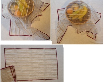 Hand-made Net cover for Fruits/ Foods
