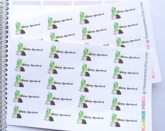 Massage Appointment Reminder Planner Sticker fits Erin Condren Life Planner (ECLP) Reminder Sticker 1424