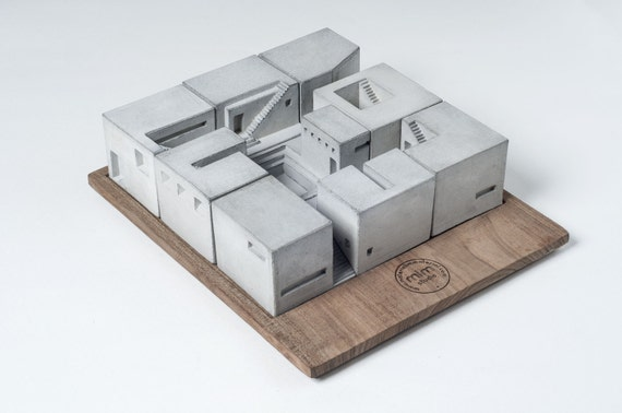 Miniature Concrete by Material Immaterial // Click through for a curated selection of handmade gifts for architecture lovers!