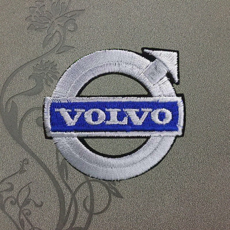 Volvo Cars Logo Clothing Patches Polo Embroidered Iron On Patch