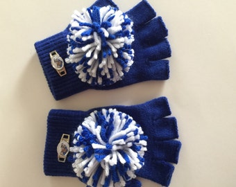 how to make pom pom spirit gloves