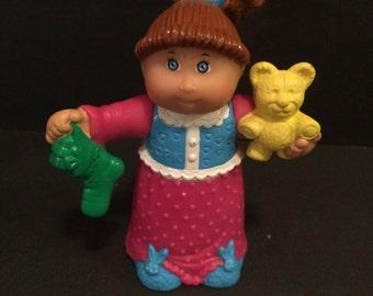 Cabbage Patch Kid plastic figurine