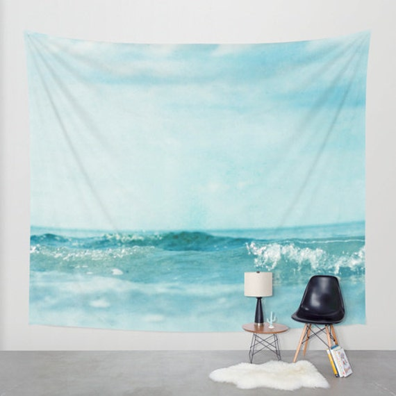 ocean tapestry sea tapestry nautical home decor large size wall art original