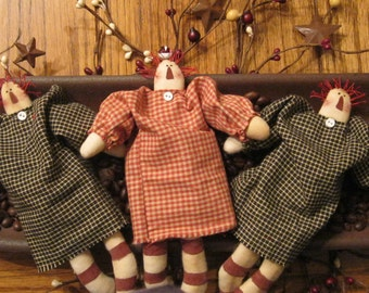 Raggedy Ann Bowl Fillers - Mini Raggedy Ann - Raggedy Ann Decoration - Doll - FAAP~HAFAIR~TEAMHAHA