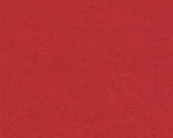 Red Brush Stroke - 100% Cotton
