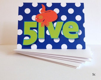 FUN Birthday Cards for Kids ages 5 - 8: Series D