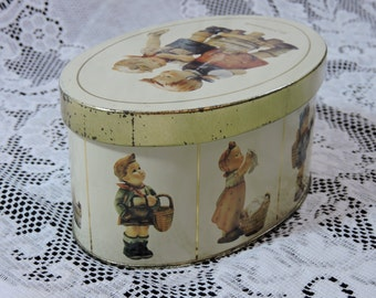 1993 Hummel Vintage Tin - Laundry Day!  Made in England