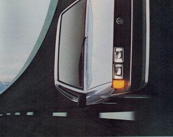 """Vintage Print Ad July 1983 : Volkswagen Scirocco Car Automobile Advertisement Wall Art Decor Color 8.5"""" x 11"""""""