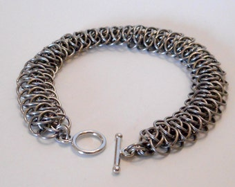 Stainless Steel Viperscale Bracelet