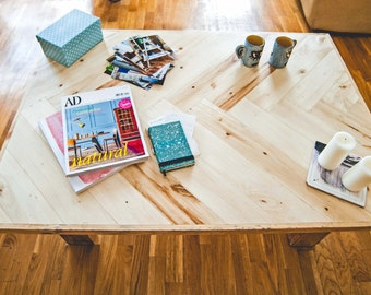 Recycled pallet wood Hall table