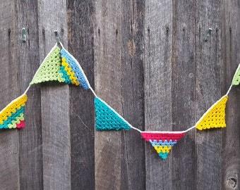 Crochet Bunting - PDF Pattern