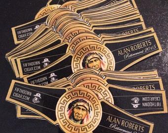 Custom Personalized Photo Logo Cigar Labels (Cigar Bands)