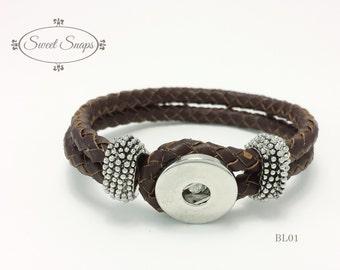 Leather Bracelet (BL01)