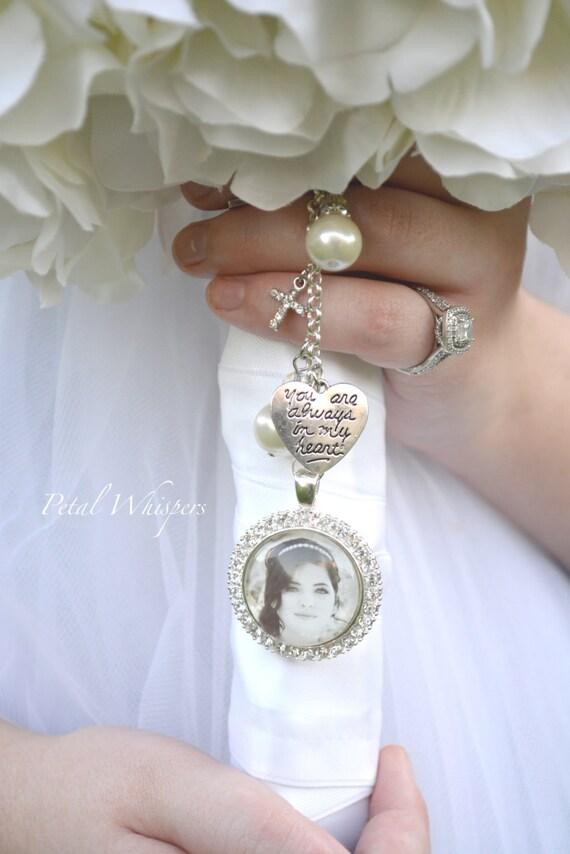 bridal bouquet charm wedding bouquet pendant bridal gift