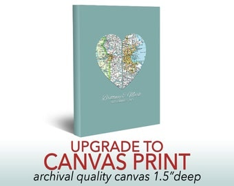 """Canvas Upgrade -ART PRINT on 1.5"""" canvas- *Must Purchase With Print*"""