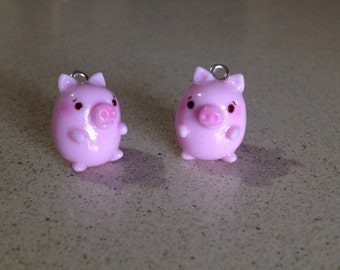 Pig charm/Necklace