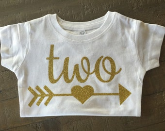 Number Arrow Birthday Shirt