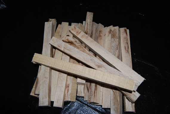 "Spalted Maple pen turning blanks, 1"" X 1"" X 12"", wood working supplies, wood turning supplies"
