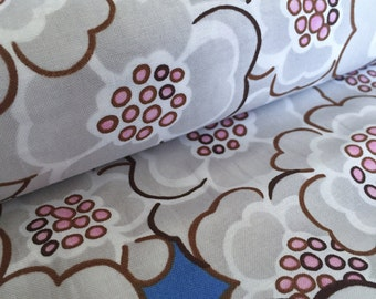 Petals Blue Floral Dena Designs Leanika Cotton Fabric