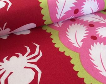 Strawberry Night Life Jane Sassman Prairie Gothic Fabric
