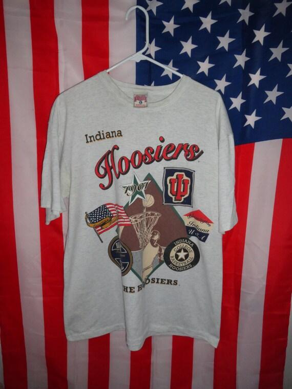Indiana hoosiers 1st season 1901 basketball t shirt size l usa for Indiana basketball t shirt